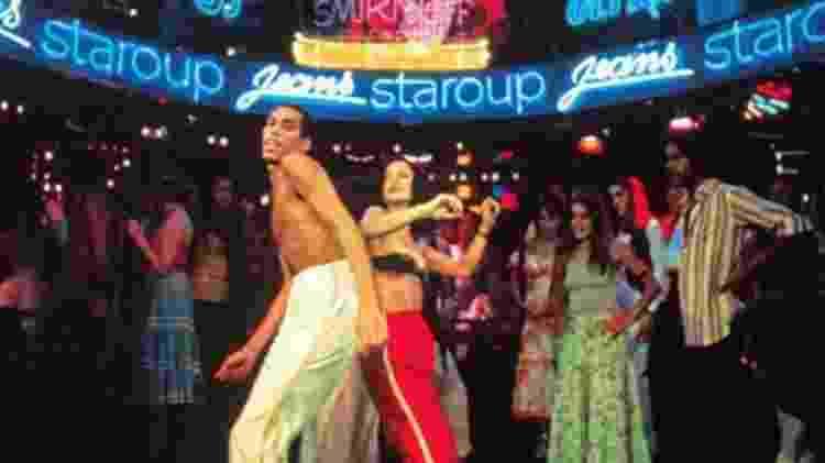 Paolette e Sônia Braga em cena da novela Dancin' Days - Memória Globo