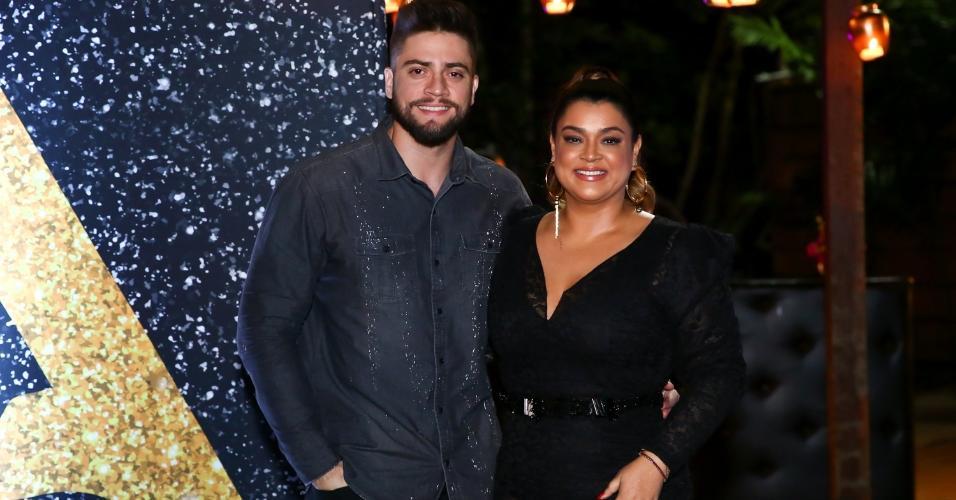 Preta Gil com o marido, Rodrigo Godoy