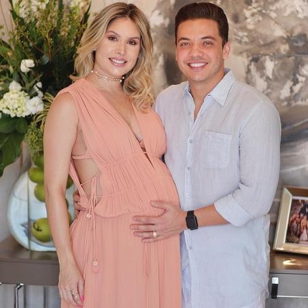 Thyane Dantas parabeniza o marido, Wesley Safadão - Reprodução/Instagram/thyane