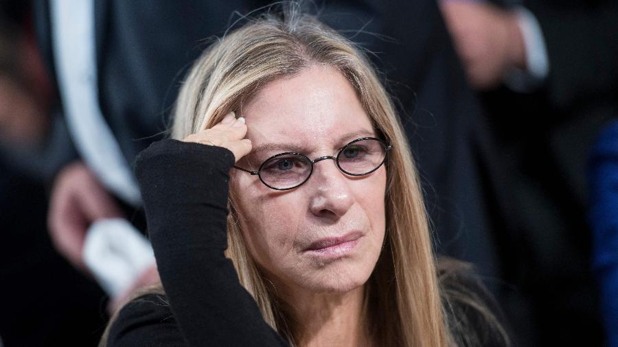 A cantora Barbra Streisand - Brendan Smialowski/AFP