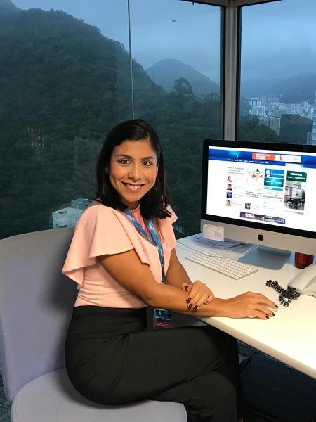 RedeTV! contrata repórter venezuelana Elena Salazar - Divulgação/RedeTV!