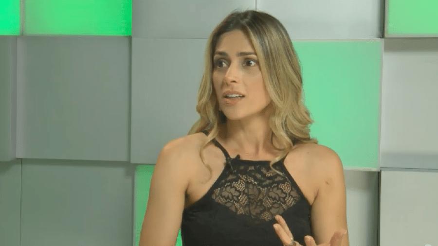 Nadja Pessoa conversa com Flávia Viana em transmissão ao vivo da RecordTV - Reprodução/Youtube