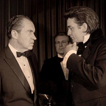 Richard Nixon e Johnny Cash - Divulgação
