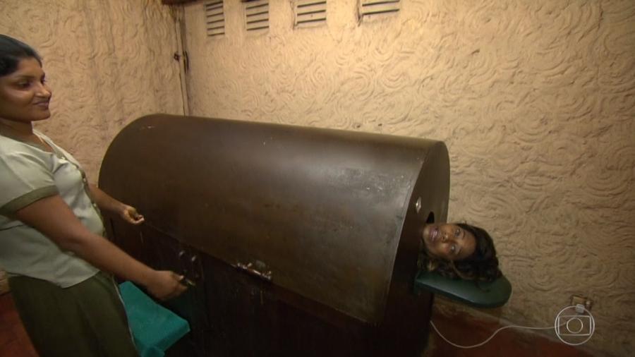 Jornalista Gloria Maria faz tratamento no SUS do Sri Lanka - Reprodução/TV Globo