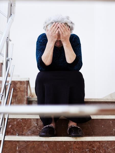 Metade das denúncias de violência contra mulher no primeiro semestre de 2018 envolveram vítimas com mais de 70 anos - Getty Images