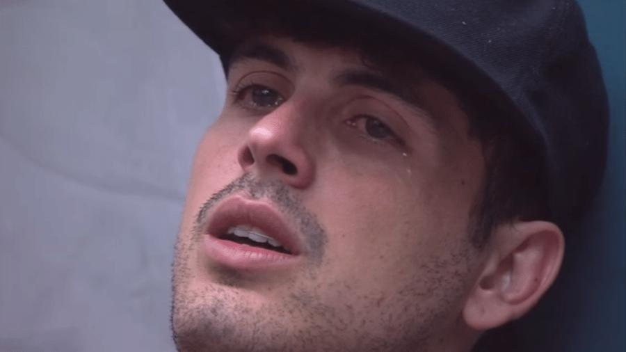 Maycon chora no quarto ouro - Reprodução/GloboPlay