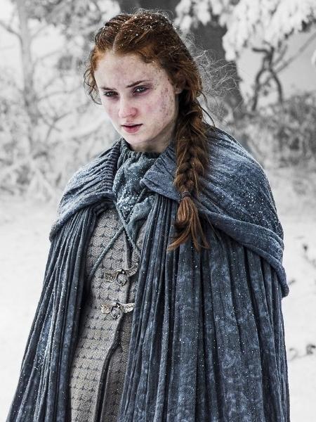 """Sansa (Sophie Turner) na quinta temporada de """"Game of Thrones"""" - Divulgação"""