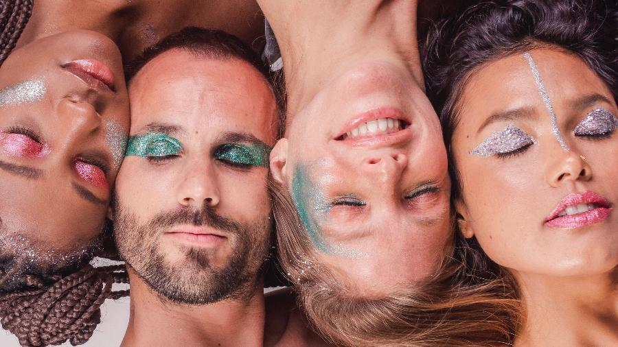 Os bioglitters estão virando mania neste Carnaval - Giltra bioglitter/Divulgação