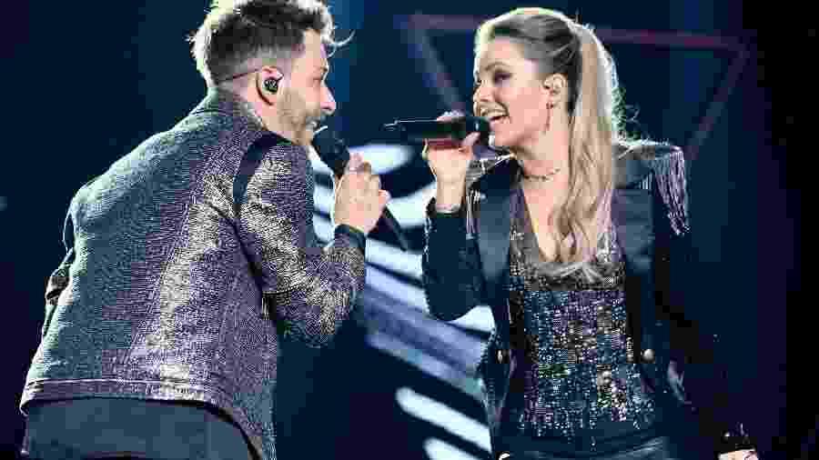Sandy e Junior em show da turnê Nossa História - Manuela Scarpa/Brazil News