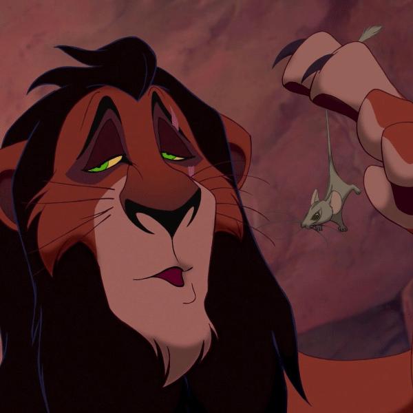 Scar em cena de O Rei Leão (1994)