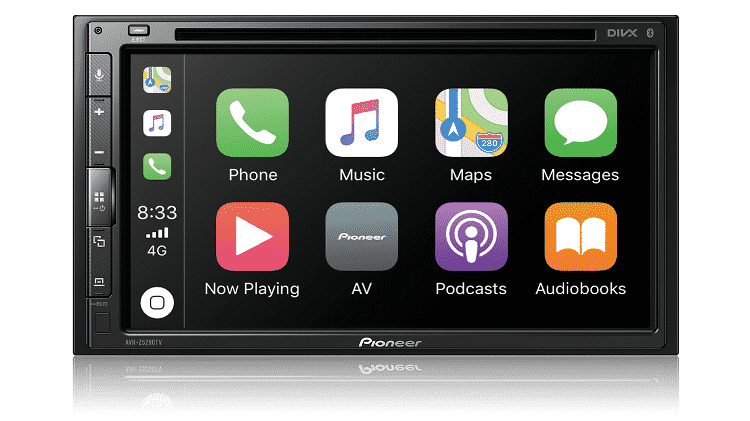 Central multimídia traz TV digital e compatibilidade com Android Auto e Apple CarPlay para utilizar aplicativos como o Waze - Divulgação