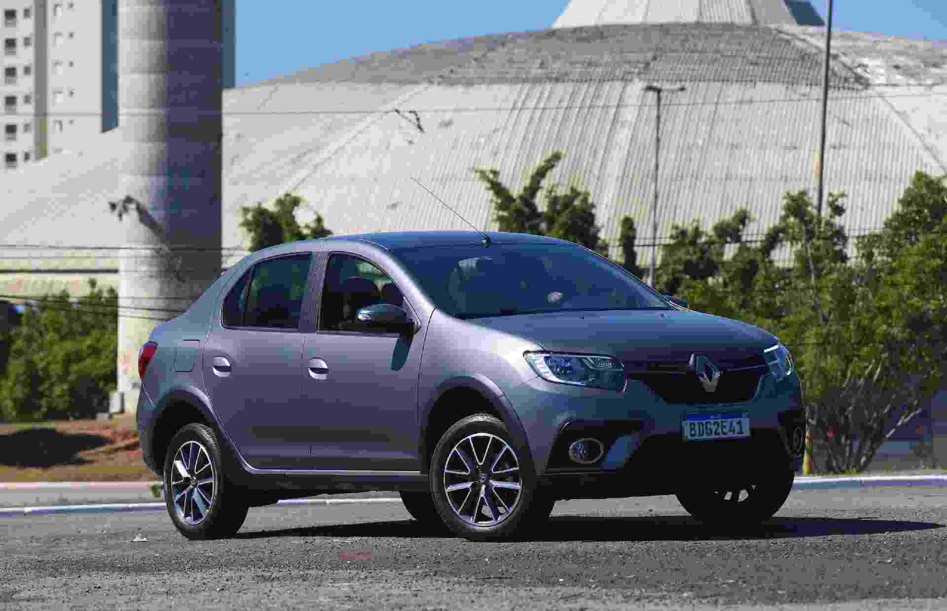 Renault Logan 2020 - Murilo Góes/Colaboração para o UOL
