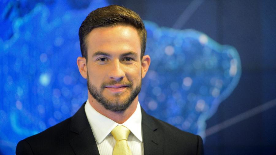 "Daniel Adjuto vai apresentar o ""Live CNN"" - Zé Paulo Cardeal/SBT"