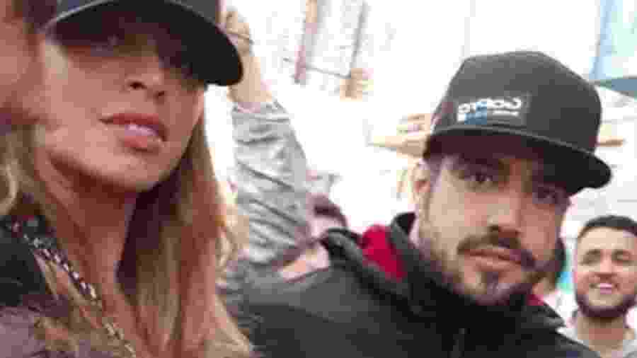 Caio Castro e Grazi Massafera foram juntos ao Rock in Rio  - Reprodução