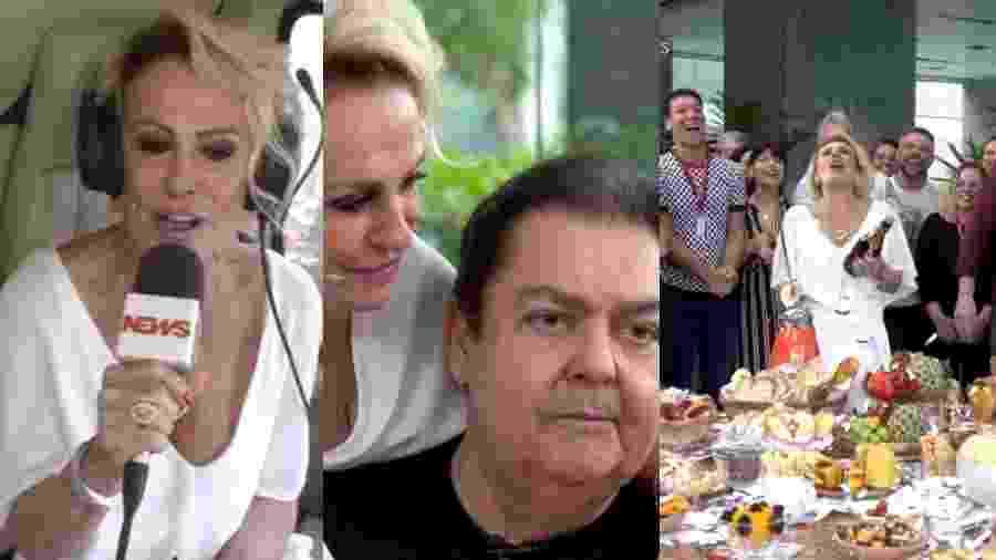 Comemoração dos 20 anos do Mais Você foi recheada de momentos memoráveis  - Reprodução/Globo/Montagem UOL