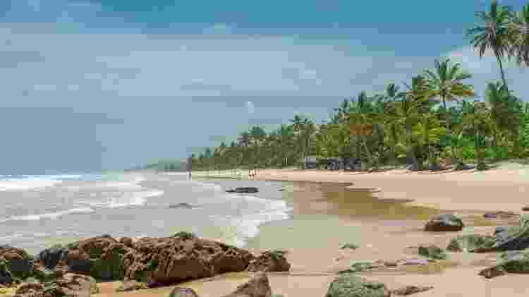 Praia de Itacarezinho, em Itacaré - iStock