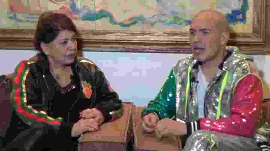 Roberta Miranda ao lado de Júnior Pacheco - Divulgação