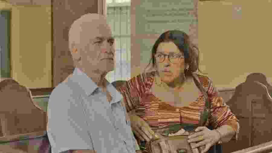 Lurdes se encontra com Doutor Gilberto em Amor de Mãe - REPRODUÇÃO/INSTAGRAM