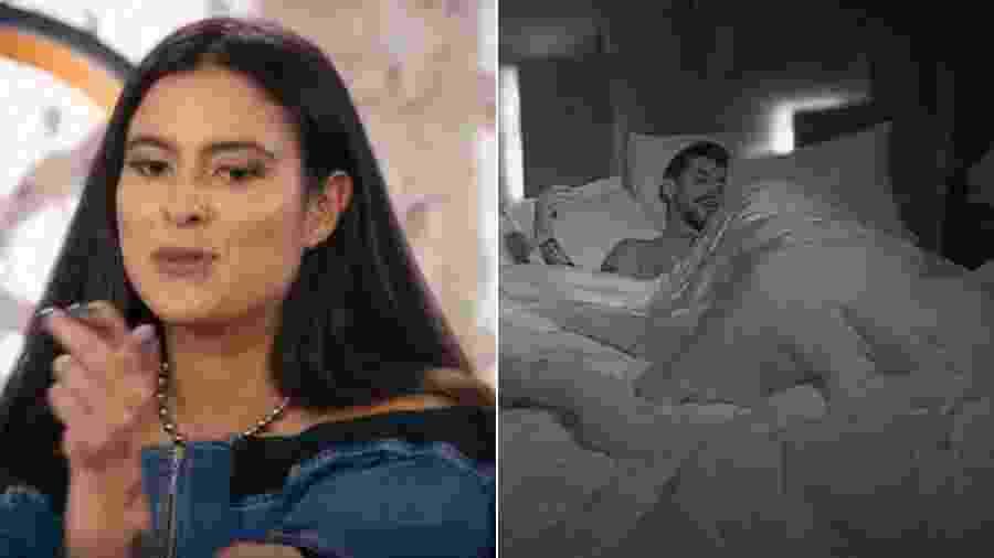 Lipe e Hana esquetam a suíte master do De Férias com o Ex Brasil - Reprodução/MTV