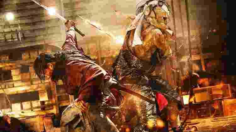 Rurouni Kenshin cinema Chanbara - Reprodução - Reprodução