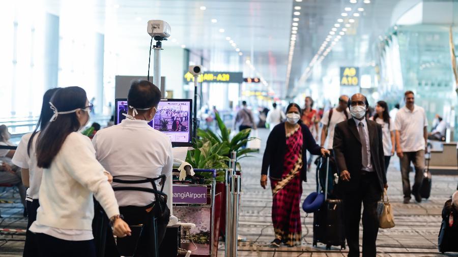 Com baixa taxa de transmissão e vacina, Singapura é o melhor local para viver na pandemia - Divulgação/Changi Airport Group (CAG)
