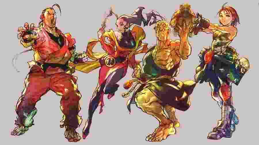 Ainda sem data de lançamento, Oro, Rose, Dan e Akira retornam na temporada 5 de Street Fighter V: Champion Edition - Divulgação/Capcom