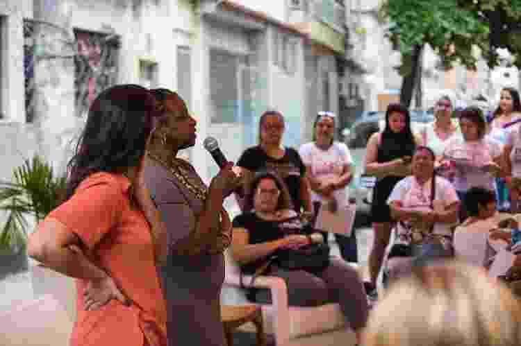 Casa das Mulheres da Maré é um projeto da ONG Redes da Maré que oferece cursos profissionalizantes para mulheres da comunidade - Douglas Lopes/Divulgação - Douglas Lopes/Divulgação