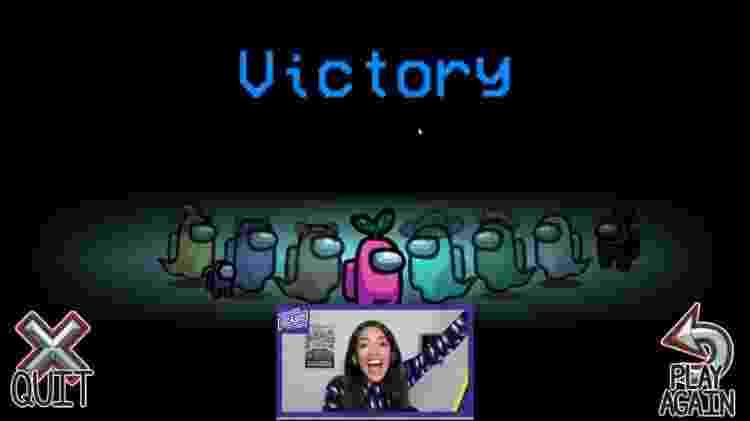 AOC Alexandria Ocasio-Cortez jogando Among Us - Reprodução/Twitch - Reprodução/Twitch