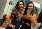 Gretchen mostra foto rara com filha: