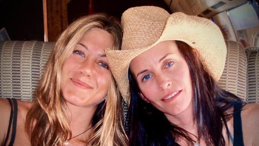 Jennifer Aniston e Courteney Cox - Reprodução/Instagram @courteneycoxofficial