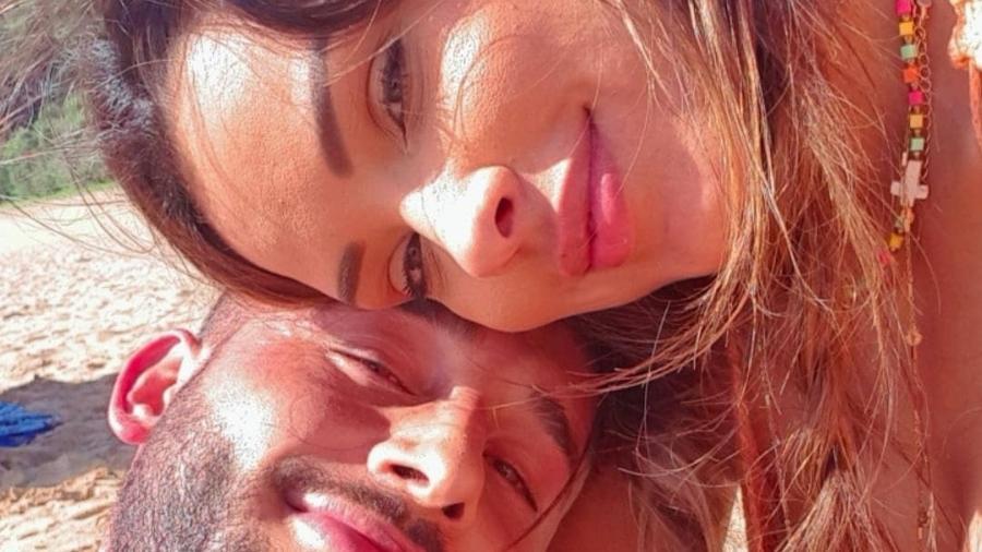A ex-BBB Ivy Moares e o namorado, Nandinho Borges - Reprodução/Instagram