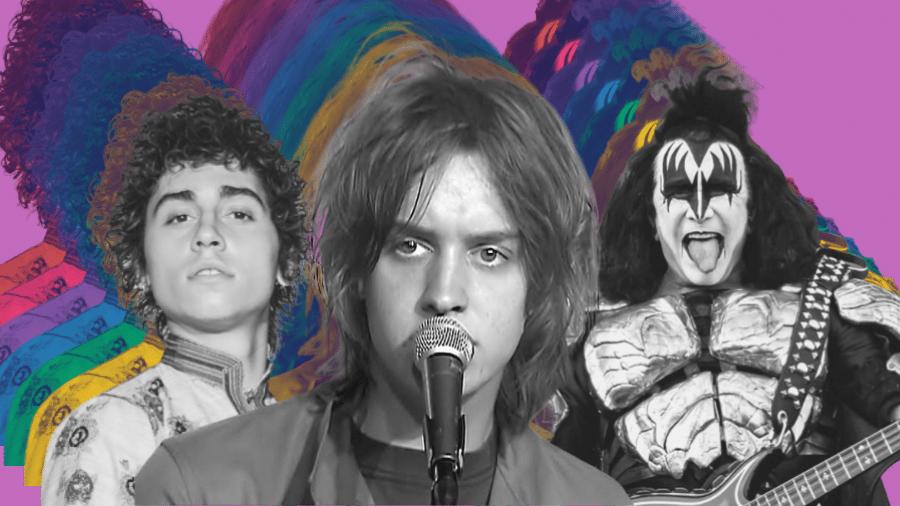 Se o rock morreu, a culpa é de quem? - Montagem: Pedro Antunes