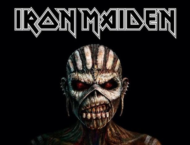 """Capa do álbum """"The Book of Souls"""", o 16º de estúdio do Iron Maiden - Divulgação"""
