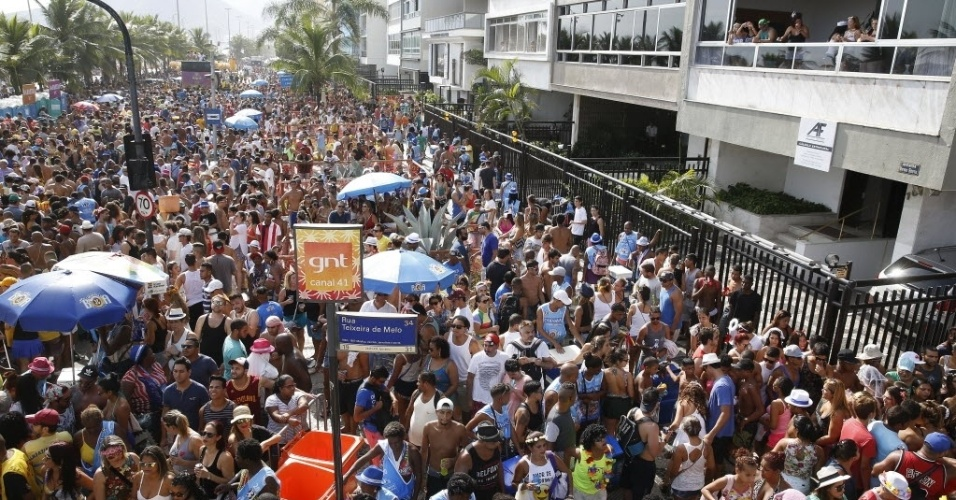 30.jan.2016 - Bloco Simpatia É Quase Amor é um dos mais tradicionais do carnaval carioca