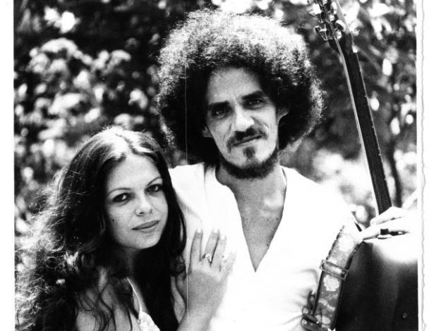 Amelinha e o ex-marido Zé Ramalho