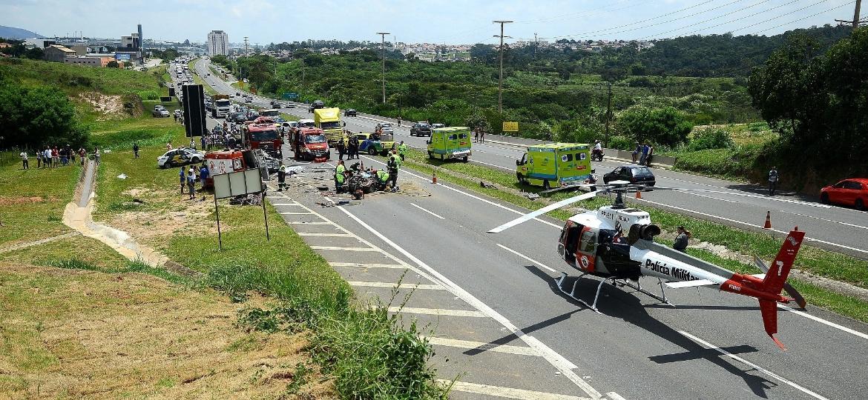 Acidentes mataram 33.547 pessoas entre motoristas, pedestres e motociclistas em 2016 - Rui Carlos/Jornal de Jundiaí Regional