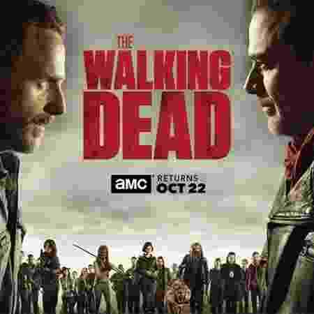"""Novo pôster da oitava temporada de """"The Walking Dead"""" - Divulgação"""