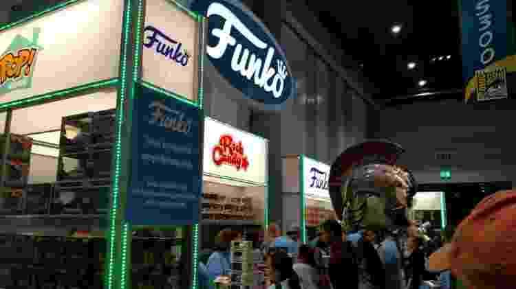 Estande oficial da Funko era um dos mais disputados da San Diego Comic-Con 2017 - Renata Nogueira/UOL - Renata Nogueira/UOL