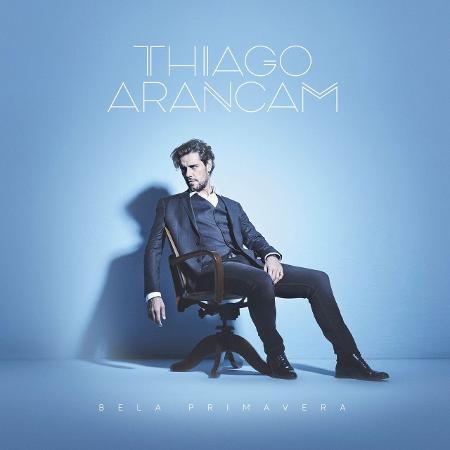 """Capa de """"Bela Primavera"""", novo disco de Thiago Arancam - Divulgação"""