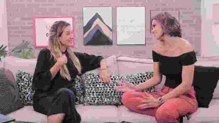 Gabriela Pugliesi entrevista Vera Viel - Reprodução/Youtube