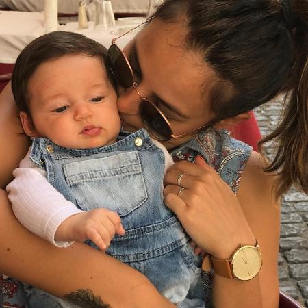 Yanna Lavigne com a filha, Madalena - Reprodução/Instagram