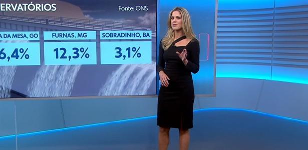 jaqueline brazil estreia como garota do tempo no \