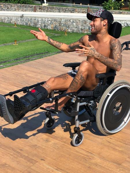 Neymar - Reprodução/Instagarm