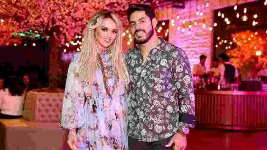 O cantor sertanejo Rodolffo, ex-marido da influencer Rafaela Kalimann, fará hoje uma live com seu parceiro Israel - Manuela Scarpa/Brazil News