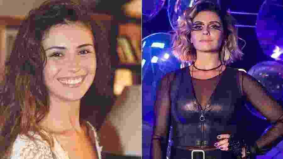 giovanna antonelli antes e depois - Reprodução/Divulgação/TV Globo