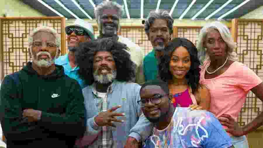 """O elenco de """"Tio Drew"""", dirigido por Charles Stone III - Divulgação"""