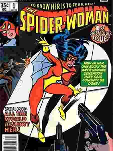 Capa de HQ da Mulher Aranha - Reprodução - Reprodução