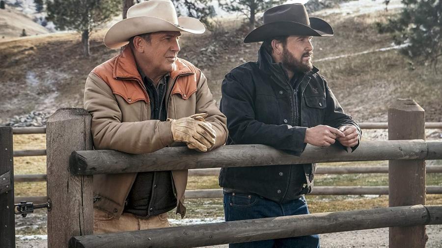 "Kevin Costner em ""Yellowstone"" - Emerson Miller / Paramount Network / IMDB"