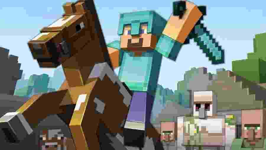 Minecraft - Reprodução