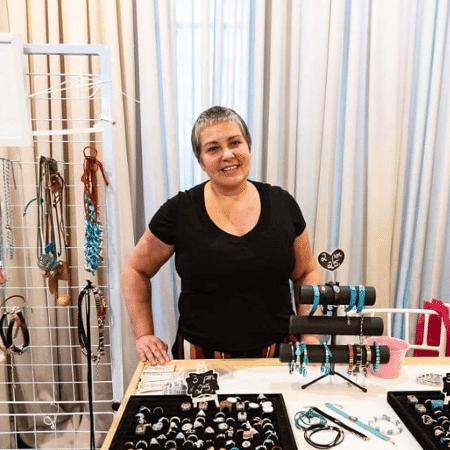 Márcia Gattai, fundadora da Fofura Pimenta, primeira marca de bijuterias plus size do país - Reprodução/Instagram